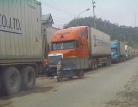 Rét kỷ lục, nông sản ùn ứ tại cửa khẩu Tân Thanh
