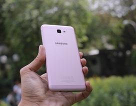 Trên tay và đánh giá nhanh Galaxy J7 Prime Hồng Vàng