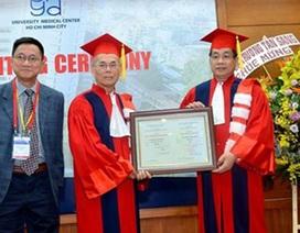 Bác sĩ Daniel Trương được phong hàm Giáo sư danh dự