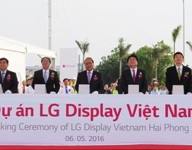 LG Display khởi động dự án tỷ đô tại Hải Phòng