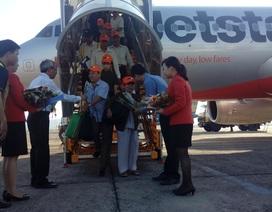 Cấp cứu thành công nữ hành khách trên máy bay
