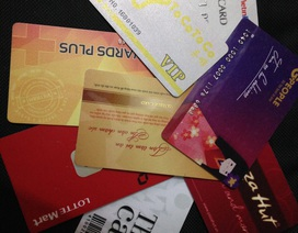 """Người Việt thích mua sắm bằng thẻ """"khách hàng thân thiết"""""""