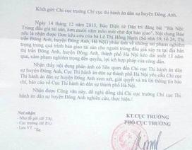 """Cục thi hành án Hà Nội chỉ đạo giải quyết vụ """"om"""" tài sản trúng đấu giá 10 năm"""