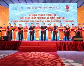 Tổng công ty Tiên Sơn Thanh Hóa niềm tự hào kinh tế xứ Thanh
