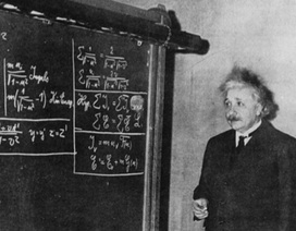 Thiên tài Albert Einstein có thực sự học dốt toán?