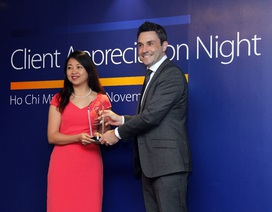 Vietcombank nhận các giải thưởng của Tổ chức thẻ quốc tế Visa và MasterCard
