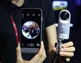 LG ra mắt camera lăn, camera 360 độ và kính thực tại ảo tại Việt Nam