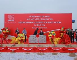 Nestlé xây nhà máy 70 triệu USD thứ hai tại Hưng Yên