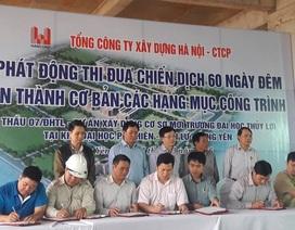 Trường ĐH Thủy Lợi đẩy nhanh tiến độ xây dựng cơ sở mở rộng tại Hưng Yên