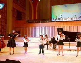 Phụ huynh, học sinh cùng nhau trải nghiệm khoảnh khắc thăng hoa cùng âm nhạc