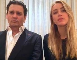 Vợ chồng Johnny Depp cúi đầu xin lỗi nước Úc sau scandal thú cưng