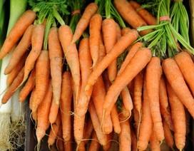 Vì sao cà rốt lại có màu cam?