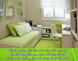 """8 bí quyết giúp """"nới rộng"""" không gian phòng ngủ chật hẹp"""