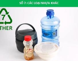 Ký hiệu trên đồ dùng nhựa - Kiến thức quan trọng nhưng thường bị bỏ qua