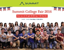 Gặp gỡ gần 50 ĐH hàng đầu của Mỹ tại triển lãm du học Summit College Fair