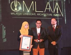 Gamuda Land vinh dự nhận giải thưởng Kiến trúc cảnh quan Malaysia