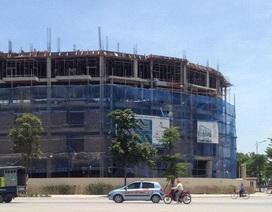 Dự án Nhà phố thương mại The Victoria đã vào giai đoạn cất nóc
