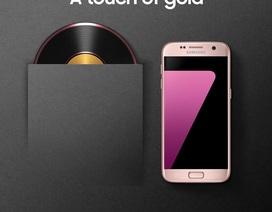 Galaxy S7 phiên bản hồng vàng chính thức ra mắt tại Việt Nam