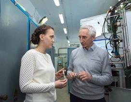 Sản xuất siêu nhanh kim loại mới ứng dụng cho kỹ thuật không gian