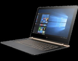 HP Spectre - laptop siêu mỏng khẳng định thương hiệu cao cấp