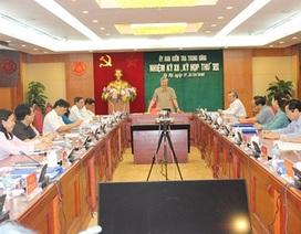Đề nghị cảnh cáo nguyên Bộ trưởng Vũ Huy Hoàng