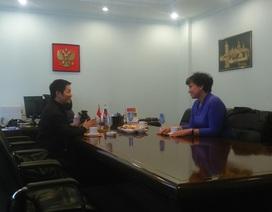 Giám đốc TT Văn hóa Nga tại HN: Đây là lần đầu tiên tôi mặc áo dài Việt Nam