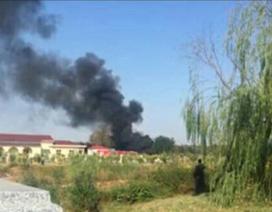 Máy bay chiến đấu Trung Quốc nghi bị rơi do chim lọt vào động cơ