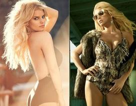 "Jessica Simpson: Vẻ đẹp nóng bỏng của ""gái hai con"""