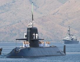 Tàu chiến Nhật Bản lần đầu tới Úc kể từ Thế chiến 2