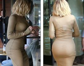 Khloe Kardashian khoe thân hình nảy nở
