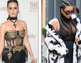 Katy Perry mặc xấu như cô Kim