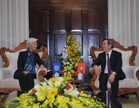 Tổng giám đốc IMF: Hoan nghênh NHNN cho phép tỷ giá linh hoạt hơn