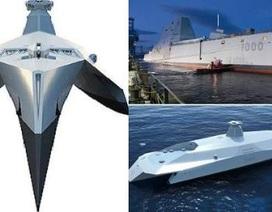 Siêu hạm như phim viễn tưởng của hải quân Anh