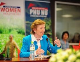 Cần tăng cường sự tham gia của phụ nữ vào hoạt động biến đổi khí hậu