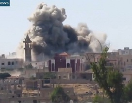 Chiến đấu cơ Syria dội bom tiêu diệt 100 tên khủng bố ở Hama