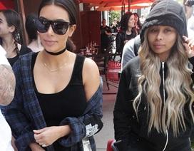 Kim Kardashian thân thiết với em dâu tương lai
