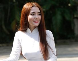 9X Sài thành diện áo dài trắng tinh khôi nhớ thuở học trò