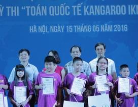 Trao giải cho hơn 200 học sinh trong kỳ thi Toán quốc tế tại Việt Nam