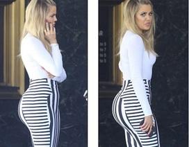 Khloe Kardashian gợi cảm với váy ôm sát