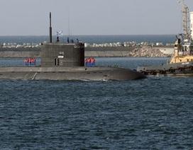 Nga hạ thủy tàu ngầm tấn công mang tên Komsomolsk-na-Amure