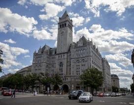 Tỷ phú Trump mở khách sạn hạng sang gần sát Nhà Trắng