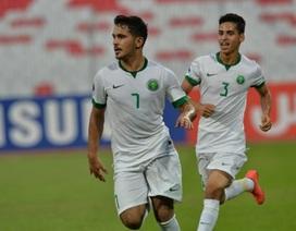 """U19 Saudi Arabia đánh bại Iran sau trận bán kết """"mưa bàn thắng"""""""