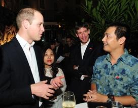 Hoàng tử Anh William gặp gỡ 50 người Việt trẻ