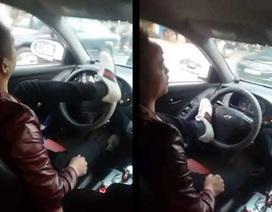 Tăng mức phạt tài xế nặng hơi men, lái xe bằng chân, lạng lách đánh võng
