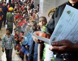 Malaysia: Chương trình tái tuyển dụng lao động bất hợp pháp thất bại