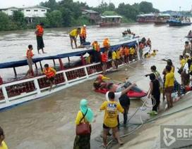 Đắm tàu du lịch Thái Lan, ít nhất 13 người chết