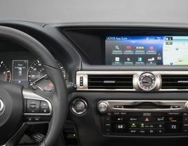 Xe Lexus bị lỗi hệ thống thông tin-giải trí