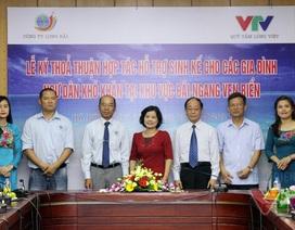 Long Hải hỗ trợ dân bãi ngang ven biển miền Trung 1,2 tỉ đồng