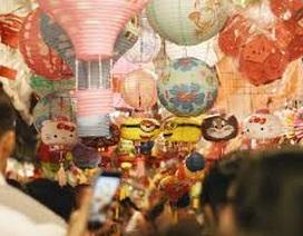 Lồng đèn Trung Quốc ế ẩm