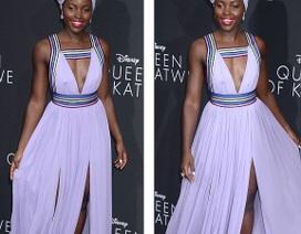 Người đẹp nhất thế giới cuốn hút với váy tím bồng bềnh